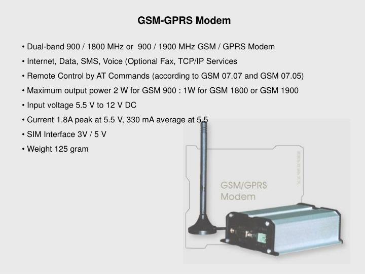 GSM-GPRS Modem