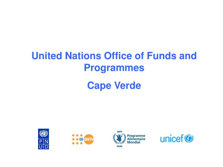 United Nations Office of Funds and Programmes