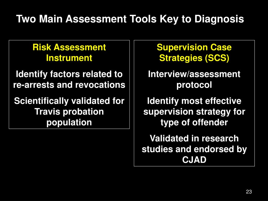 Two Main Assessment Tools Key to Diagnosis