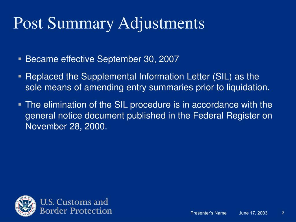 Became effective September 30, 2007