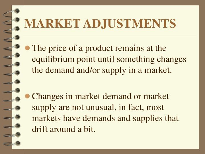 Market adjustments2