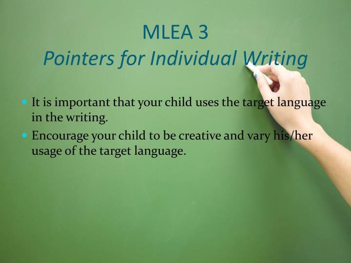 MLEA 3