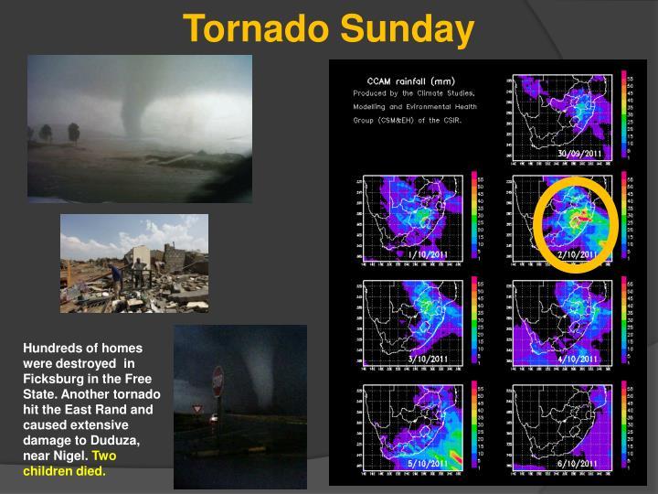 Tornado Sunday