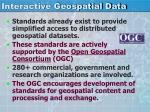interactive geospatial data