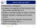sense making agent