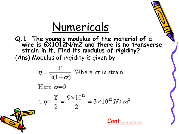Numericals
