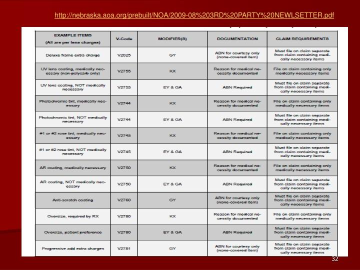 http://nebraska.aoa.org/prebuilt/NOA/2009-08%203RD%20PARTY%20NEWLSETTER.pdf