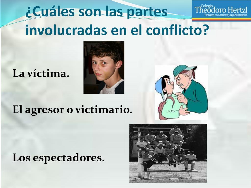 ¿Cuáles son las partes involucradas en el conflicto?