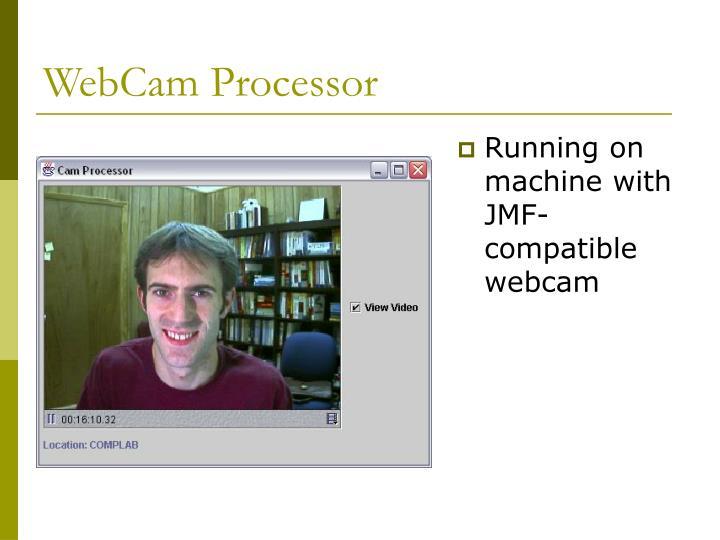 WebCam Processor