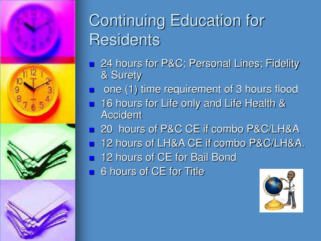 Continuing Education for Residents