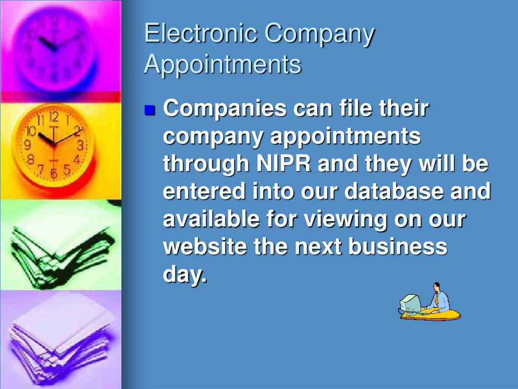 Electronic Company Appointments