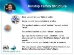 kinship family structure1