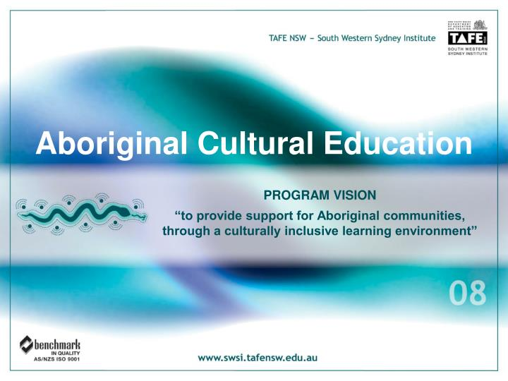 Aboriginal Cultural Education