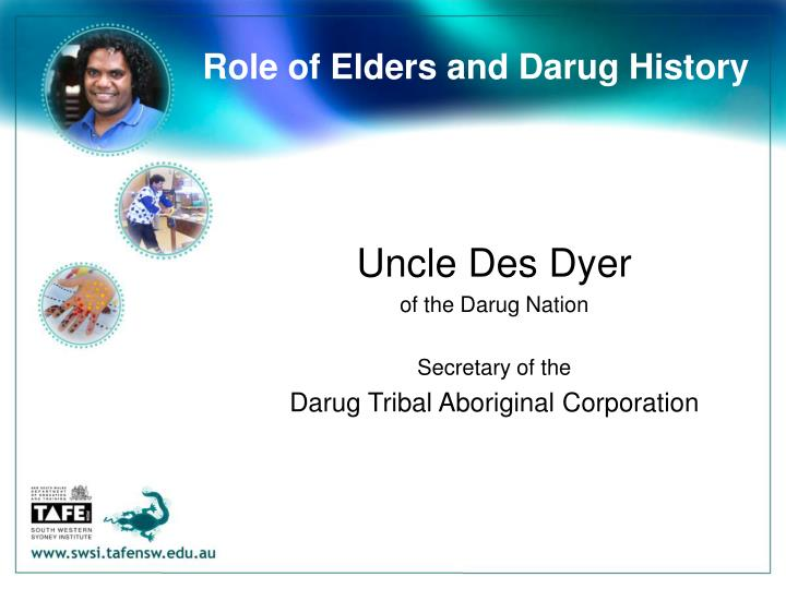 Role of Elders and Darug History