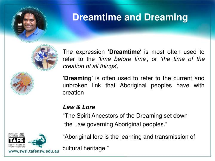 Dreamtime and Dreaming