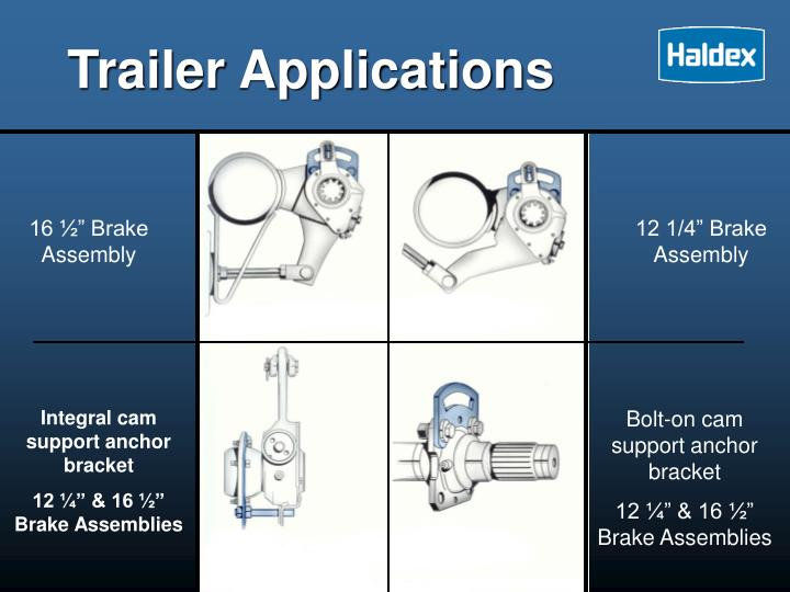 Trailer Applications