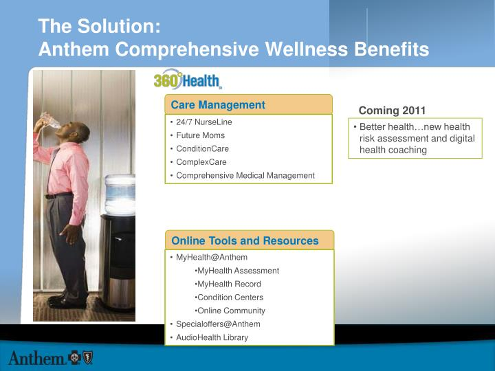 the solution anthem comprehensive wellness benefits