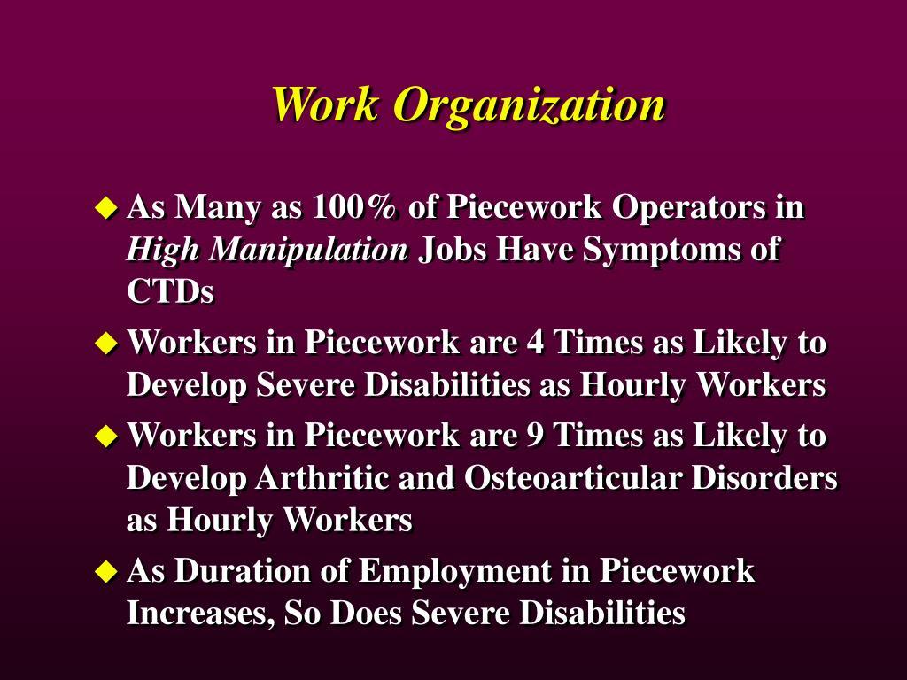 Work Organization