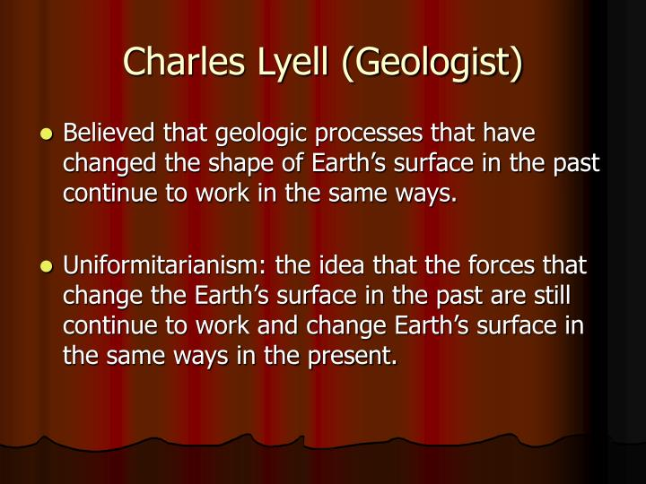 Charles Lyell (Geologist)
