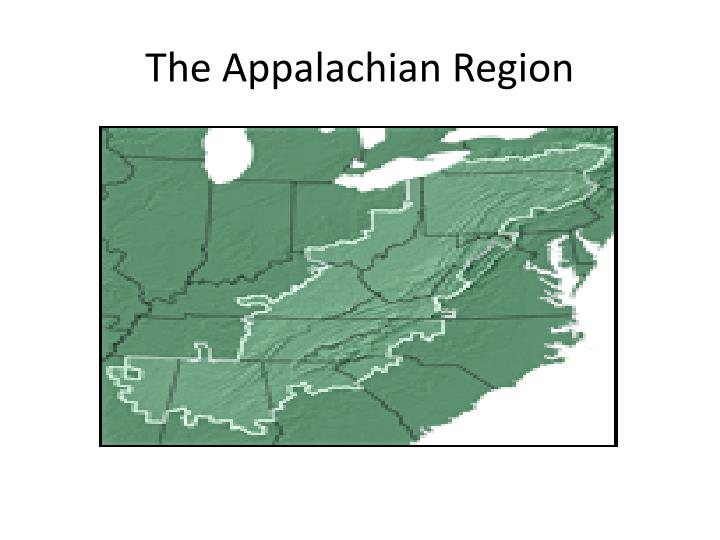 The Appalachian Region