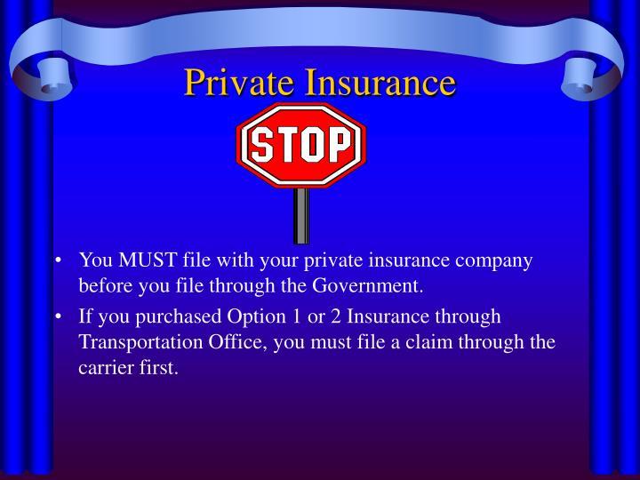Private Insurance
