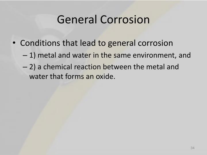 General Corrosion