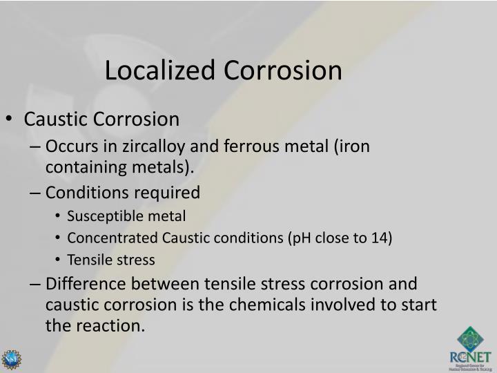 Caustic Corrosion