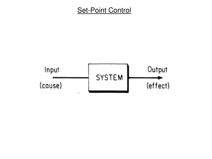 Set-Point Control