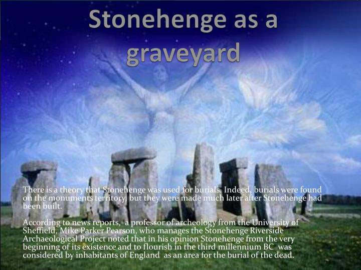 Stonehenge as a graveyard