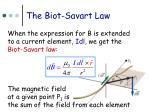 the biot savart law3