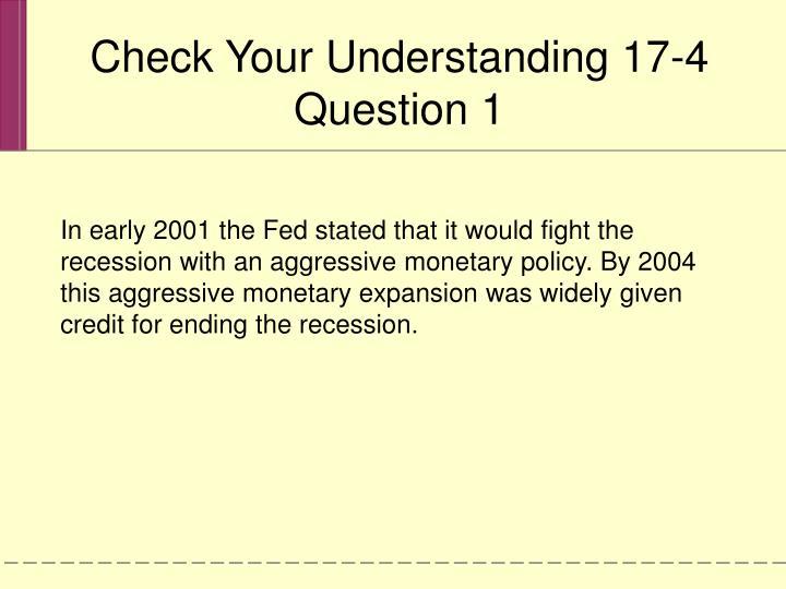 Check Your Understanding 17-4