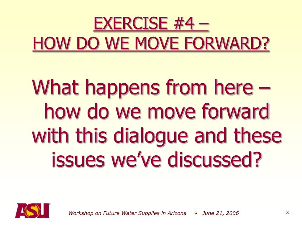 EXERCISE #4 –