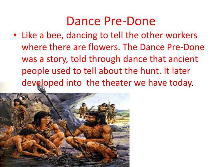 Dance Pre-Done