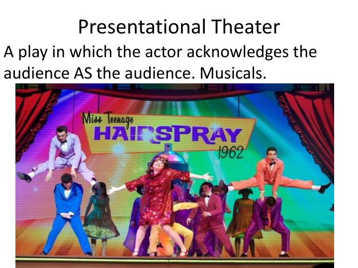 Presentational Theater
