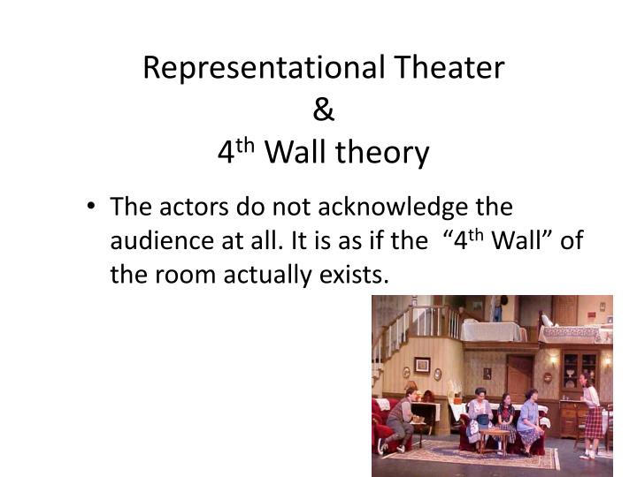 Representational Theater
