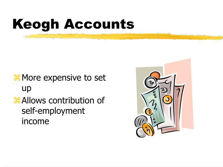 Keogh Accounts
