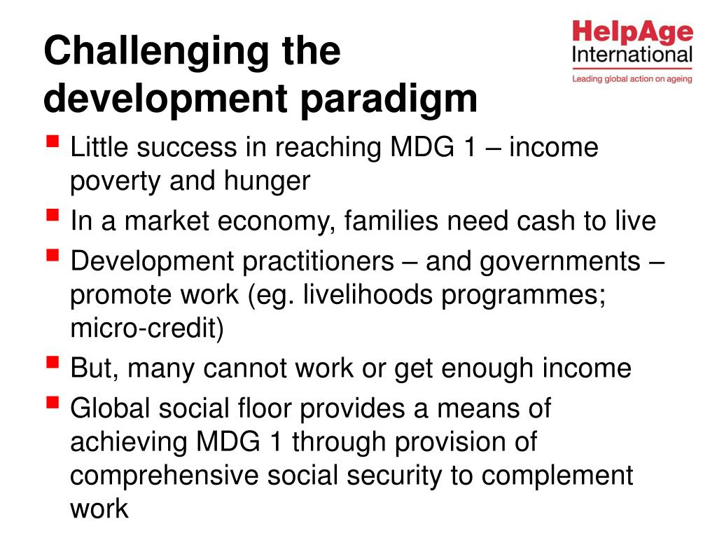 Little success in reaching MDG 1 – income poverty and hunger