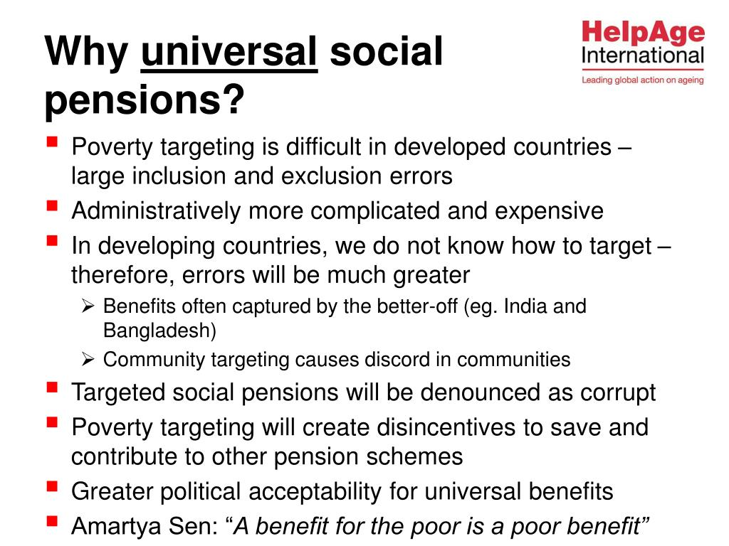 Poverty targeting is difficult in developed countries – large inclusion and exclusion errors