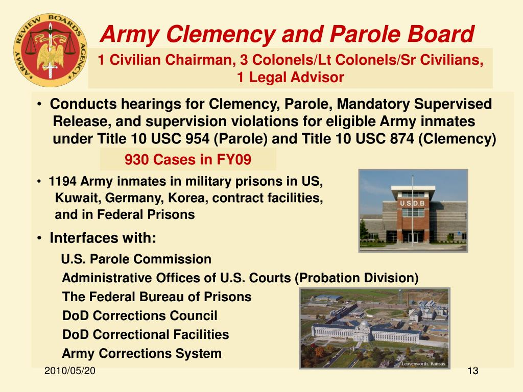 Army Clemency and Parole Board