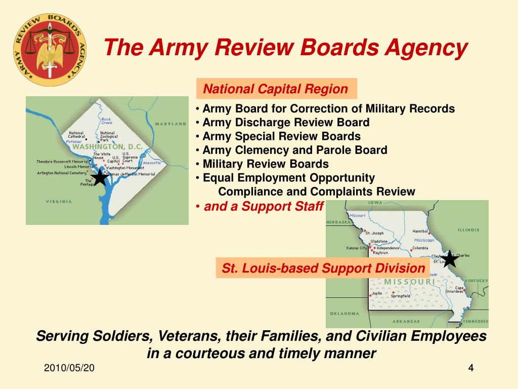 The Army Review Boards Agency