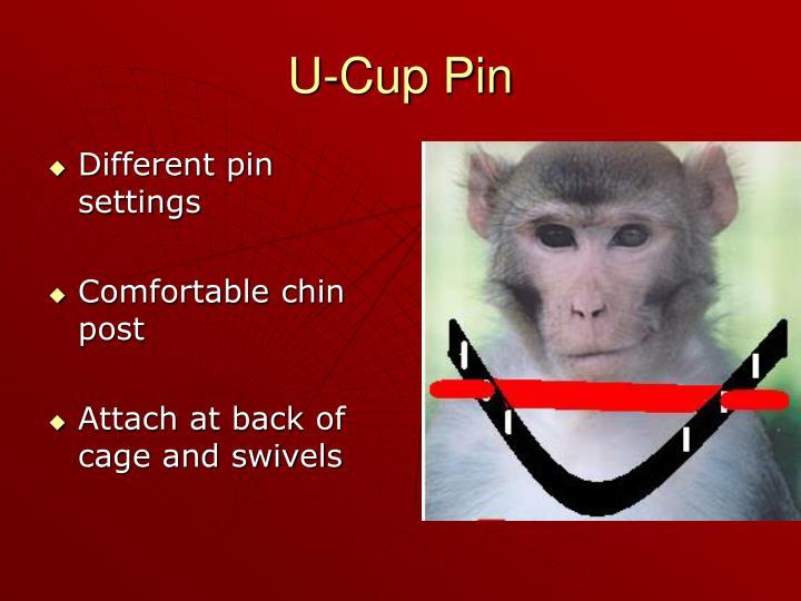U-Cup Pin