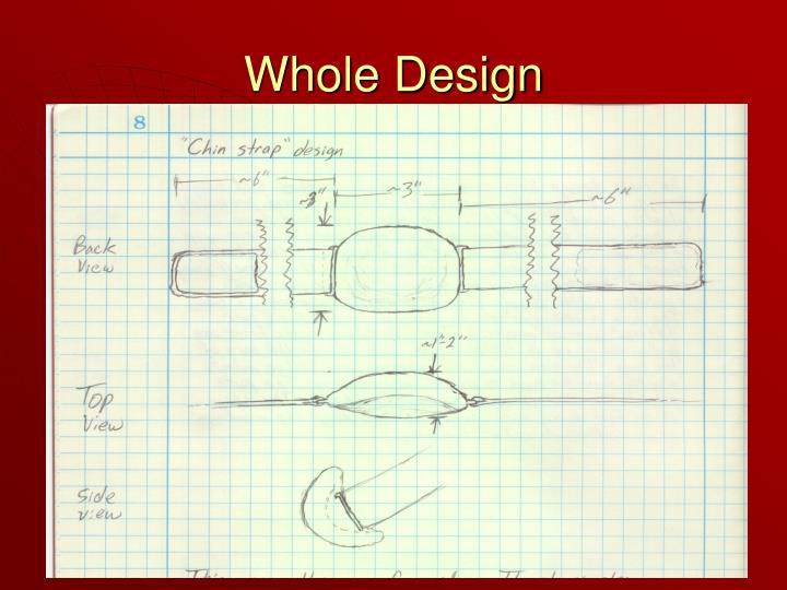 Whole Design