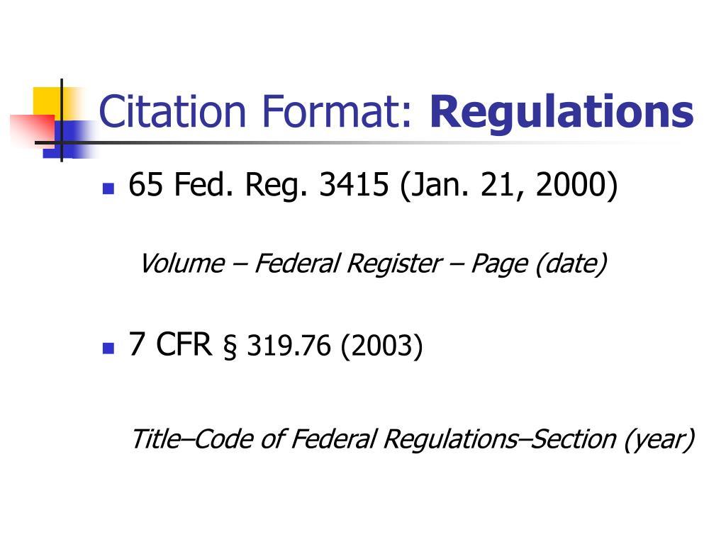 Citation Format: