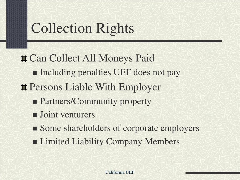 Collection Rights