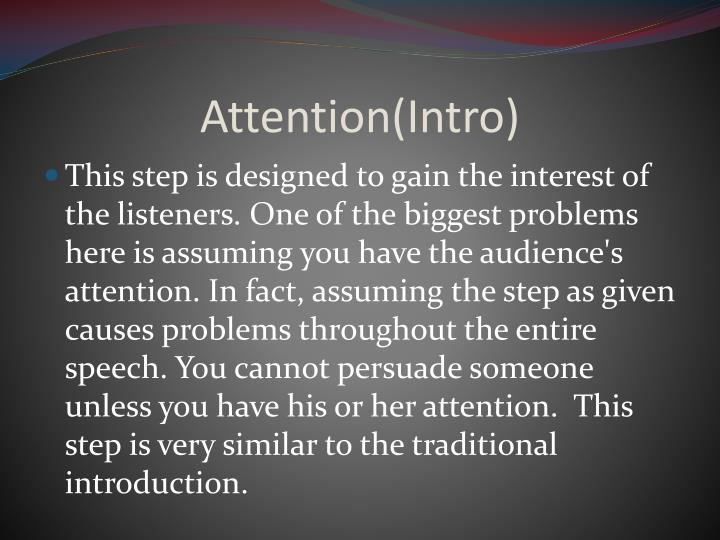 Attention intro