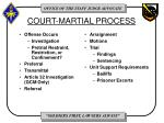 court martial process