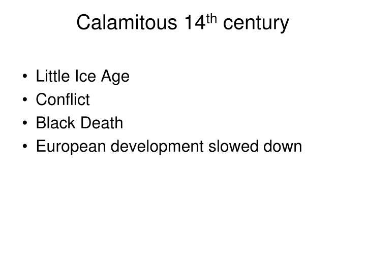 Calamitous 14