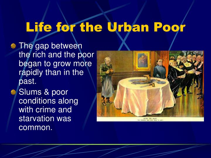 Life for the Urban Poor