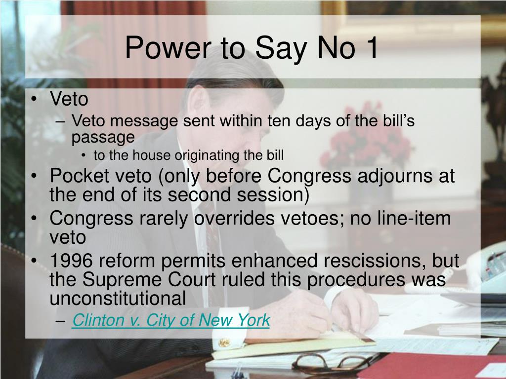 Power to Say No 1