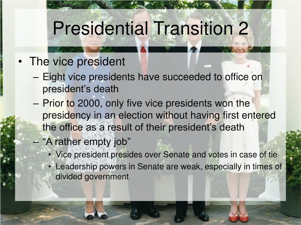 Presidential Transition 2